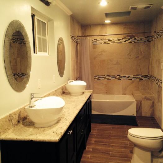 la salle de bain de la location